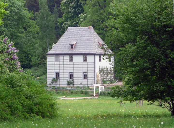 Deutschland Lese | Goethes Gartenhaus