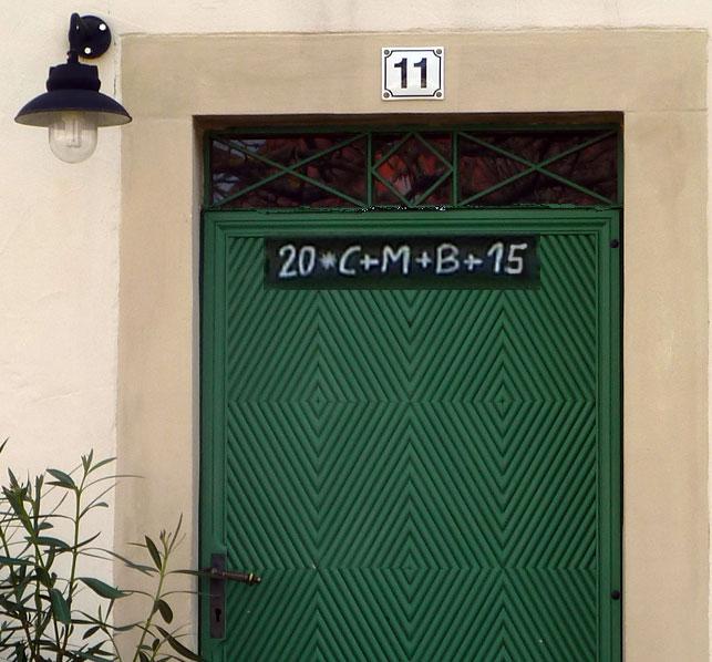 Zeichen An Der Tür